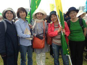 右から大田・北澤さん、品川・吉田さん、杉並・奥田さん、曽根さん